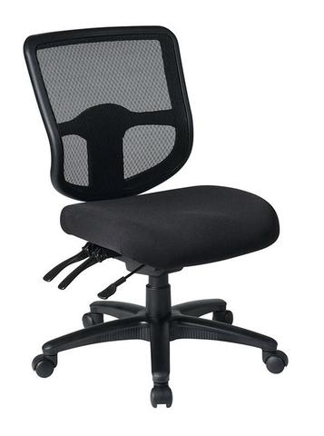 Find Office Star Pro-Line II 98341-30 Ergonomic Task Chair with ProGrid® Back and Ratchet Back Height Adjustment without Arms near me at OFO Orlando