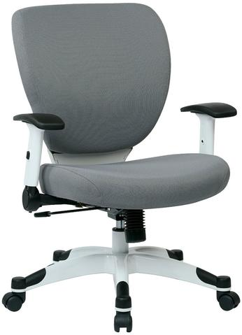 Find Space Seating 5200W-5811 Managers Chair with Padded Mesh Seat and Back