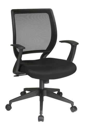 "Find Office Star Work Smart EM51022N-3 Screen Back Task Chair with ""T"" Arms near me at OFO Orlando"