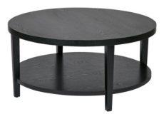 "Find Ave Six MRG12-BK Merge 36"" Round Coffee Table. Black Finish. near me at OFO Orlando"