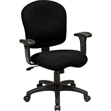 Find Work Smart SC66-231 Task Chair with Saddle Seat and Adjustable Soft Padded Arms near me at OFO Orlando