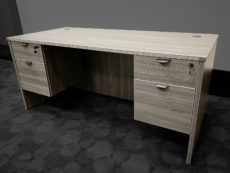 Find used grey executive desks at Office Liquidation