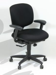 Find used haworth black chairss at Office Liquidation