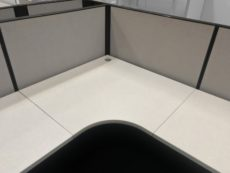 Find used l-shape Herman Miller AO2s at Office Liquidation