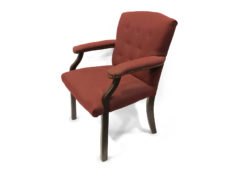 Find used hon side guest mahogany red upholsterys at Office Furniture Outlet