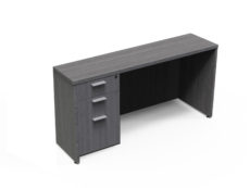 Find used KUL 24x71 credenza w/ 1bbf ped (gry)s at Office Furniture Outlet