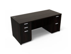 Find used KUL 36x71 desk w/ 1bbf and 1ff ped (esp)s at Office Furniture Outlet