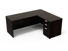 Find used KUL 60x72l desk w/ 1bbf ped (esp)s at Office Furniture Outlet