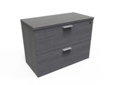 Find used KUL 30 2 drawer laminate lateral file (gry)s at Office Furniture Outlet